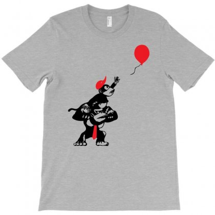 Balloon Apes T-shirt Designed By Chilistore