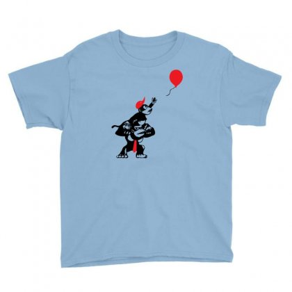 Balloon Apes Youth Tee Designed By Chilistore