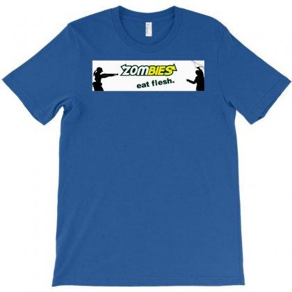 Zombie Eat Flesh T-shirt Designed By Chilistore