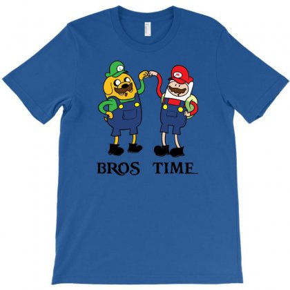 Bros Time T-shirt Designed By Chilistore