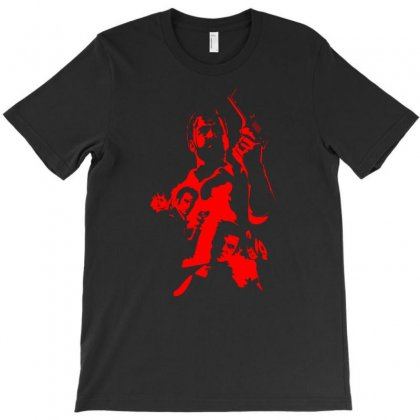 Red Max Payne T-shirt Designed By Specstore