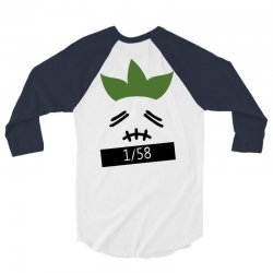 stitchface turnip 3/4 Sleeve Shirt | Artistshot