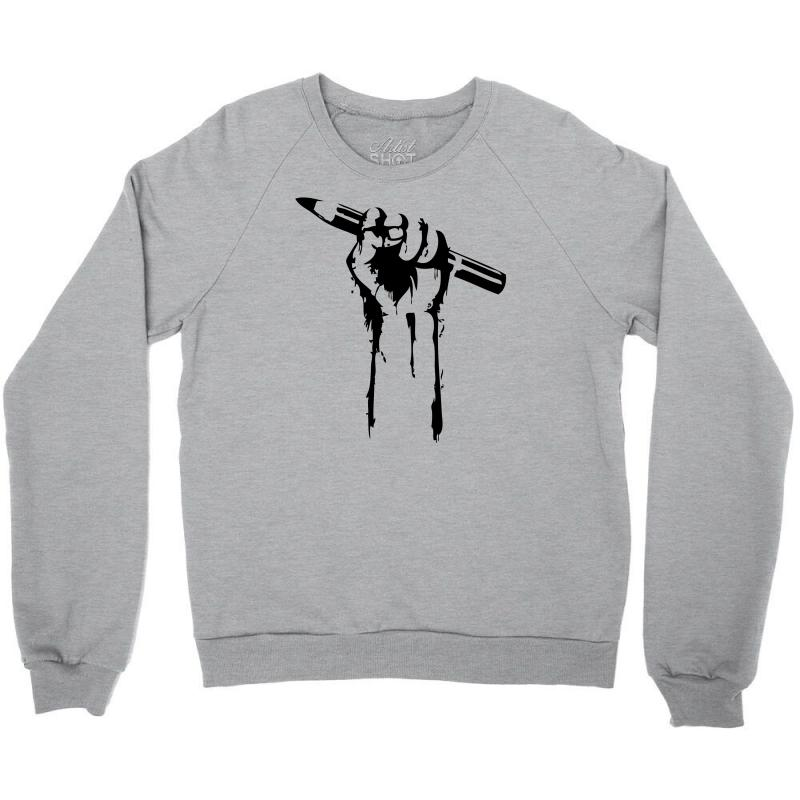 7b18f2b3 Custom I Create Crewneck Sweatshirt By Mdk Art - Artistshot