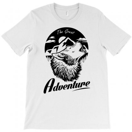 The Great Adventure T-shirt Designed By Specstore