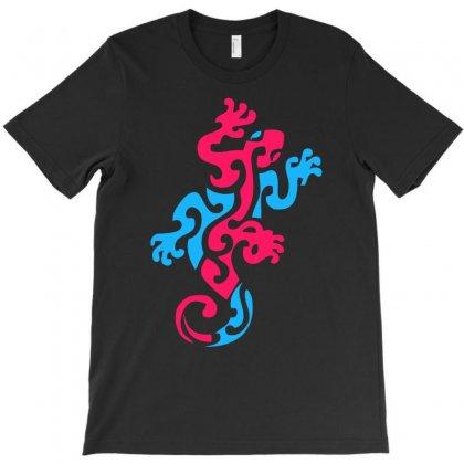 Geko Australia Nz Wildlife T-shirt Designed By Chilistore