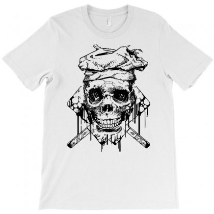 The Skull Chef T-shirt Designed By Specstore