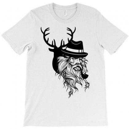 Wise Wild T-shirt Designed By Mdk Art