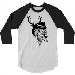 Wise Wild 3/4 Sleeve Shirt   Artistshot