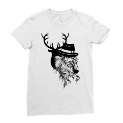 Wise Wild Ladies Fitted T-Shirt | Artistshot