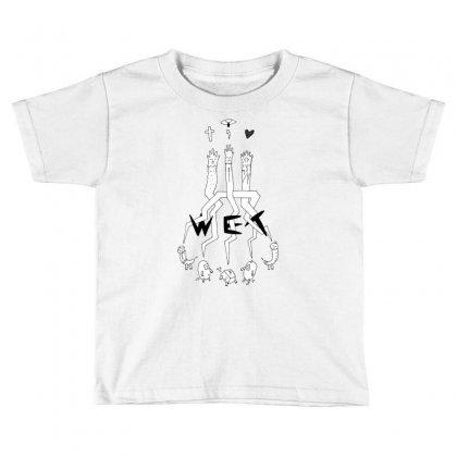 Wet Creature Toddler T-shirt Designed By Ditreamx