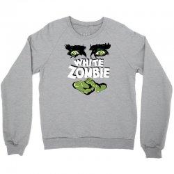 white zombie Crewneck Sweatshirt | Artistshot
