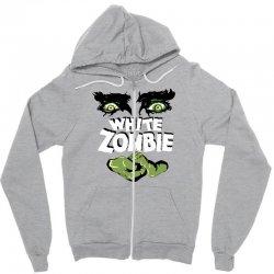 white zombie Zipper Hoodie | Artistshot