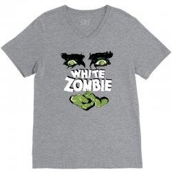 white zombie V-Neck Tee | Artistshot