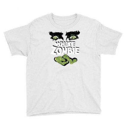 White Zombie Youth Tee Designed By Ditreamx