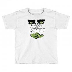 white zombie Toddler T-shirt   Artistshot