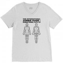 zombie guide V-Neck Tee | Artistshot