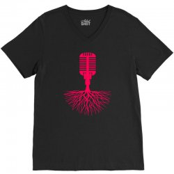 musical roots V-Neck Tee | Artistshot