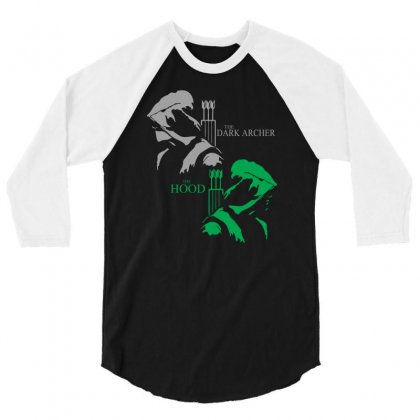 Duel Idenity 3/4 Sleeve Shirt Designed By Mdk Art