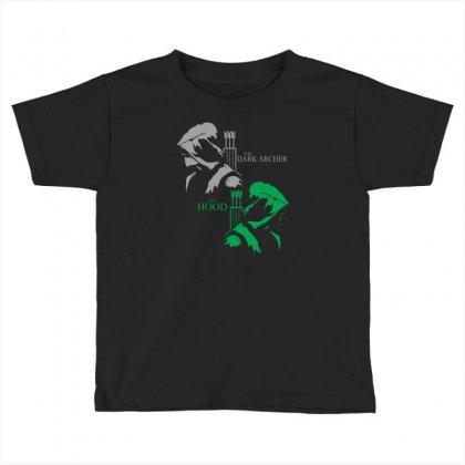 Duel Idenity Toddler T-shirt Designed By Mdk Art