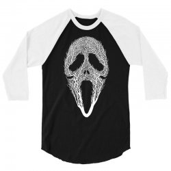 The Scream Tree 3/4 Sleeve Shirt | Artistshot