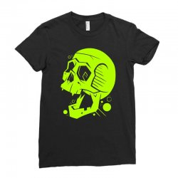 Toxic Scream Ladies Fitted T-Shirt | Artistshot