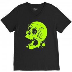 Toxic Scream V-Neck Tee | Artistshot