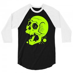 Toxic Scream 3/4 Sleeve Shirt | Artistshot