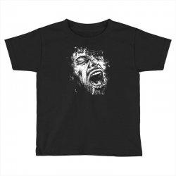 Scream Face Toddler T-shirt | Artistshot