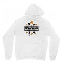 music,keyboard,electronic,piano,triangle,reflections,cute,vectorart, Unisex Hoodie | Artistshot