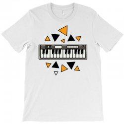 music,keyboard,electronic,piano,triangle,reflections,cute,vectorart, T-Shirt | Artistshot