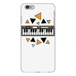 music,keyboard,electronic,piano,triangle,reflections,cute,vectorart, iPhone 6 Plus/6s Plus Case | Artistshot