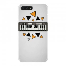 music,keyboard,electronic,piano,triangle,reflections,cute,vectorart, iPhone 7 Plus Case | Artistshot
