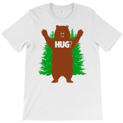 Bear Hug T-shirt Designed By Doestore