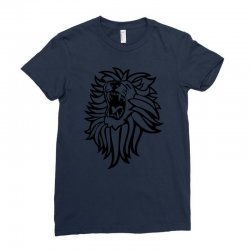 screaming lion Ladies Fitted T-Shirt | Artistshot