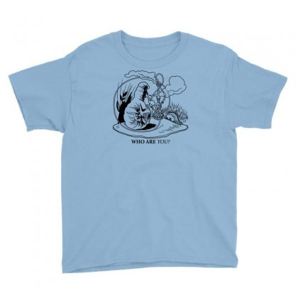 Caterpillar And Alice Youth Tee Designed By Apuy