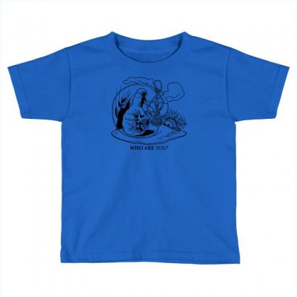 Caterpillar And Alice Toddler T-shirt Designed By Apuy