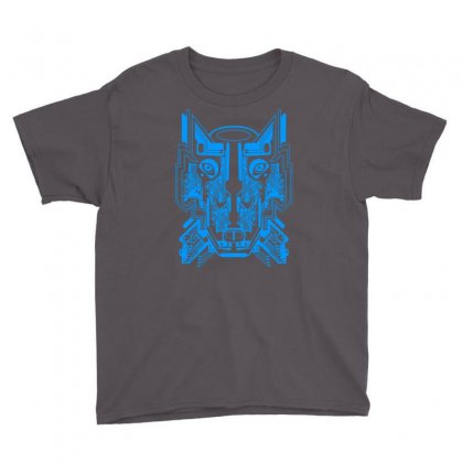 Circuit Wolf Youth Tee Designed By Apuy