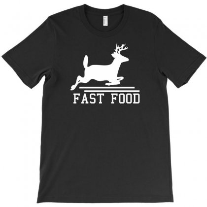 Fast Food Deer T-shirt Designed By Chilistore