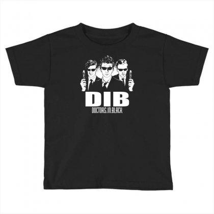 Doctors In Black Toddler T-shirt Designed By Apuy