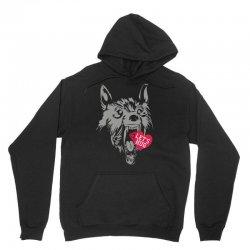 screaming wolf love you Unisex Hoodie | Artistshot