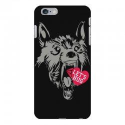screaming wolf love you iPhone 6 Plus/6s Plus Case | Artistshot