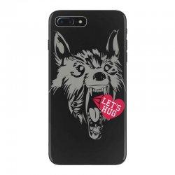 screaming wolf love you iPhone 7 Plus Case | Artistshot