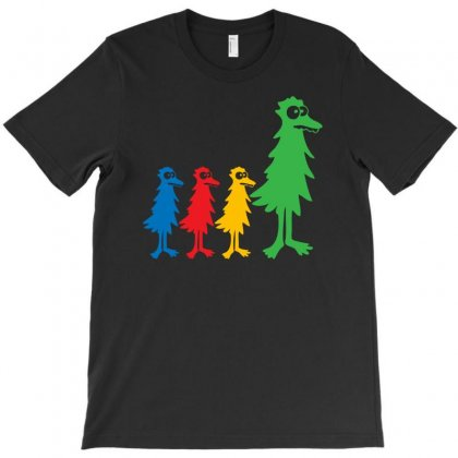 Trees Family Rainbow T-shirt Designed By Mdk Art