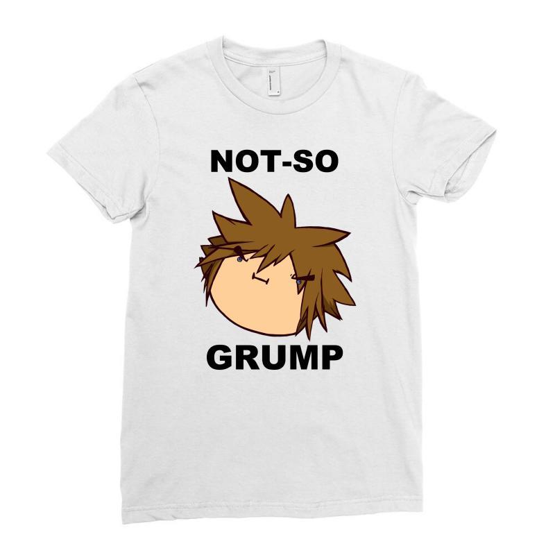 2a7f4cd17b8f Custom Not So Grump Ladies Fitted T-shirt By Mdk Art - Artistshot