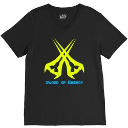 Sword Of The Energy V-Neck Tee | Artistshot