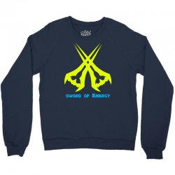 Sword Of The Energy Crewneck Sweatshirt | Artistshot