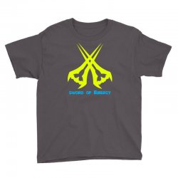 Sword Of The Energy Youth Tee   Artistshot