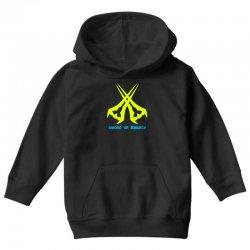 Sword Of The Energy Youth Hoodie   Artistshot
