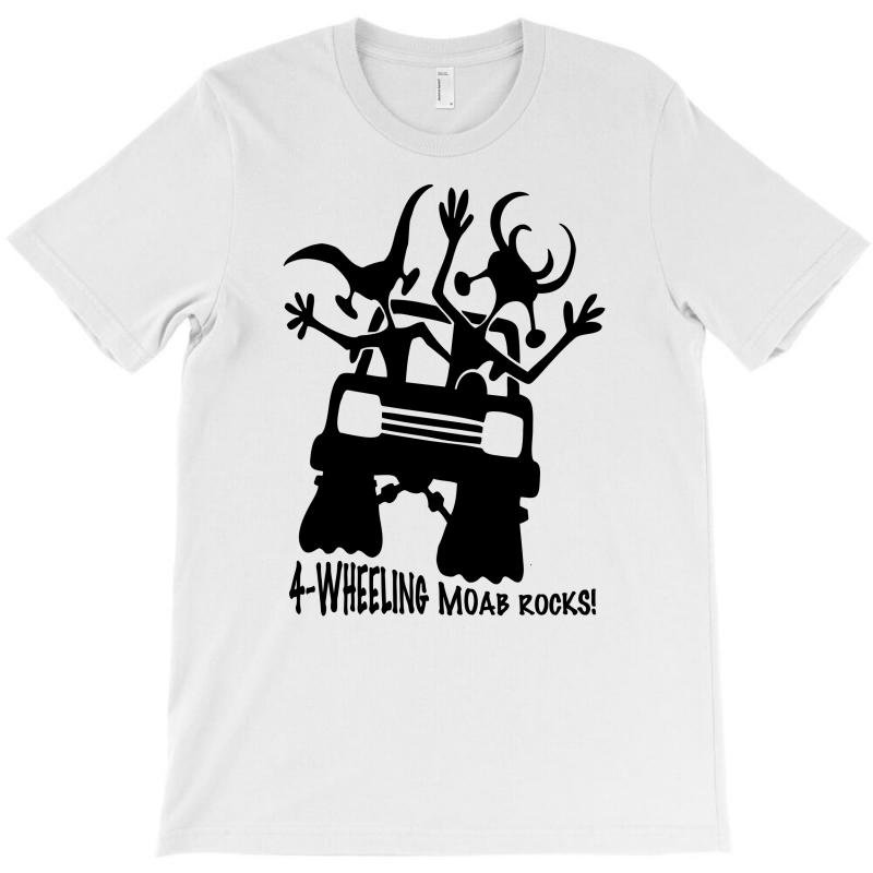 5efae90f Custom Four Wheeling T-shirt By Mdk Art - Artistshot