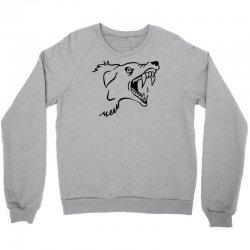 Screaming Mad Dog Crewneck Sweatshirt | Artistshot